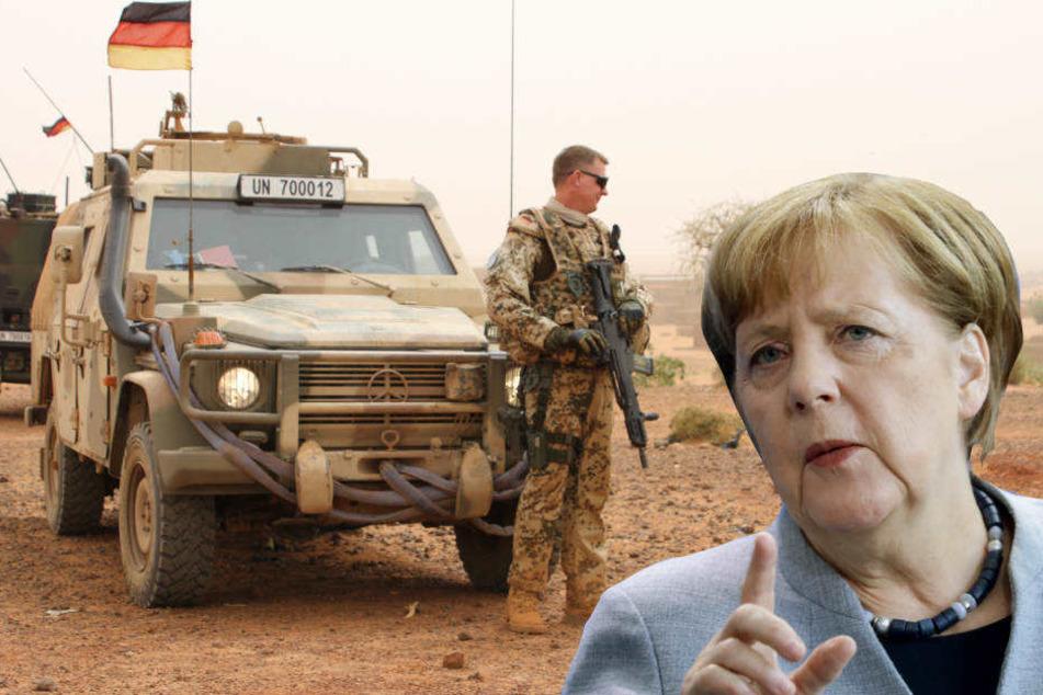 Der Bundeswehr-Einsatz in Mali soll wohl verlängert werden.
