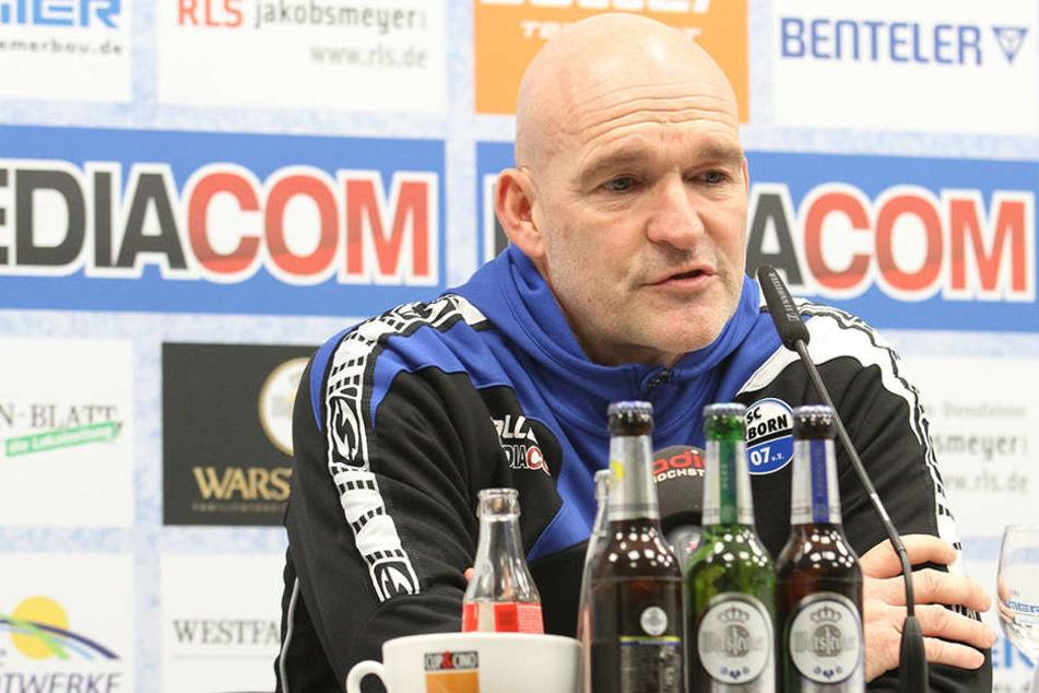 Die Vorfreude auf den Rückrundenstart ist bei SCP-Trainer Stefan Emmerling groß.
