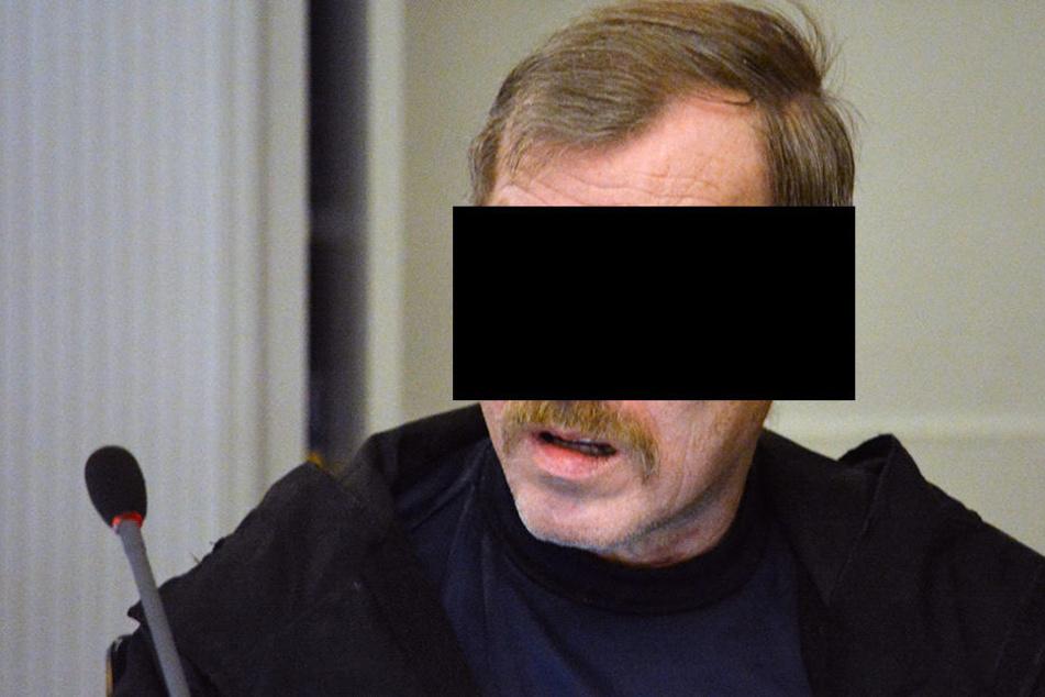 Helmut S. (61) soll eine 18-Jährige Vogtländerin missbraucht und erwürgt  haben.