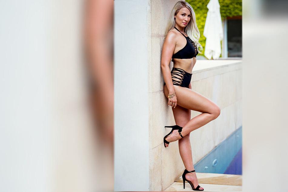 """Lisa (22) aus Elsterberg sucht bei """"Love Island"""" die große Liebe."""