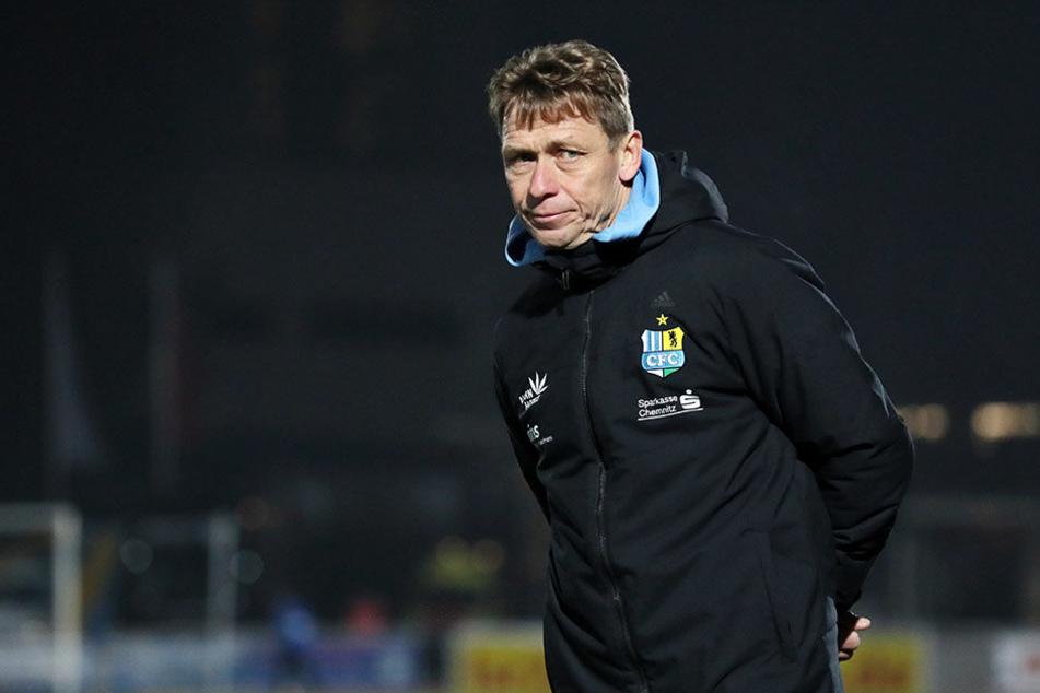CFC-Coach Sven Köhler blickte in Bautzen alles andere als glücklich. Zu durchwachsen war der Auftritt seiner Himmelblauen beim Regionalligisten.
