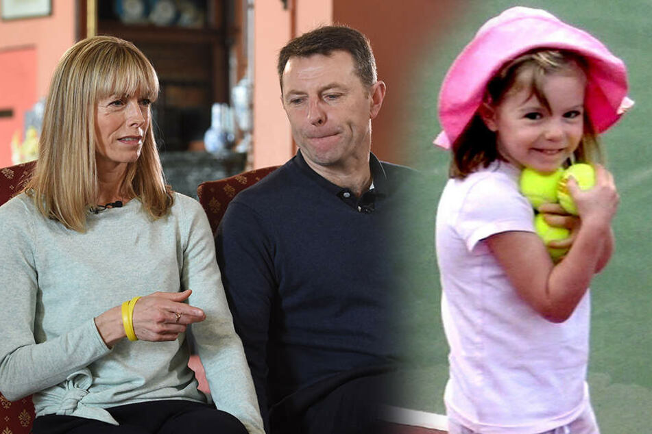 Maddies Eltern Kate und Gerry McCann suchen immer noch verzweifelt nach ihrer Tochter.