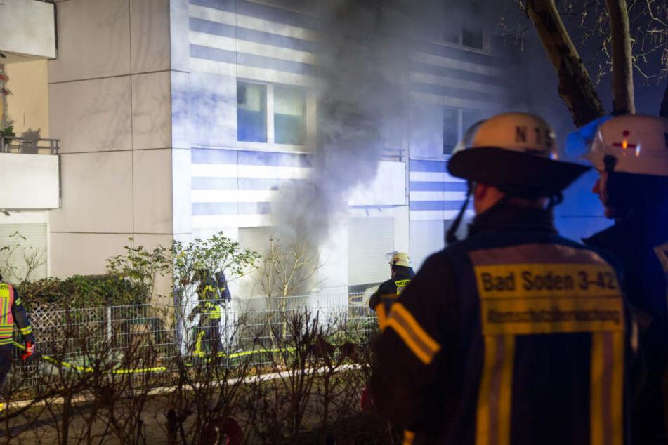 Der Brand war im Keller des Mehrfamilienhauses ausgebrochen.