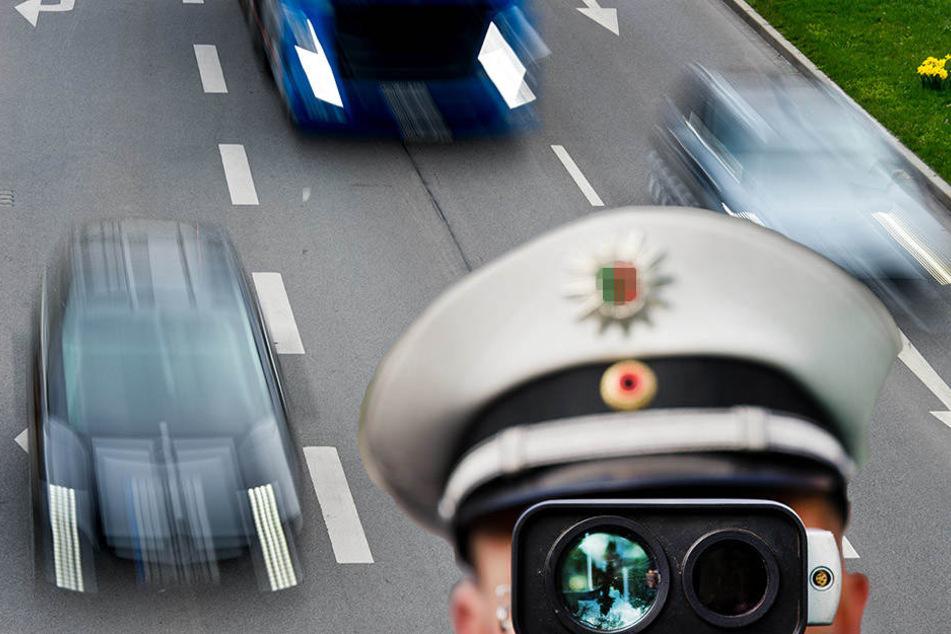 Fast 700 Raser wurden in Leipzig und Umgebung bei den europaweiten Kontrollen aus dem Verkehr gezogen. (Symbolbild)