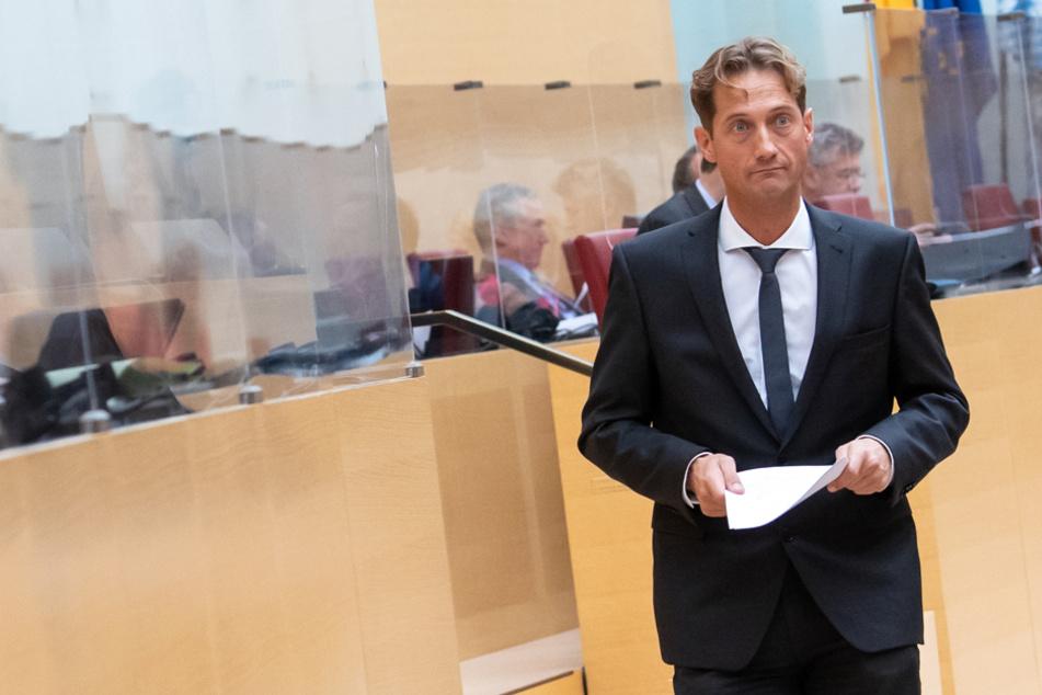 """Land in """"Geiselhaft""""? AfD-Chef schießt gegen Söder, doch andere Parteien lassen ihn auflaufen"""