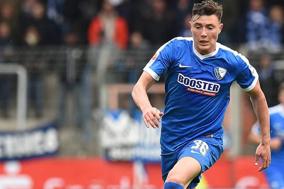 Nils Quaschner (23) wurde auch schon auf dem Mannschaftsfoto abgelichtet. Eine offizielle Bestätigung des Vereins gab es allerdings noch nicht.