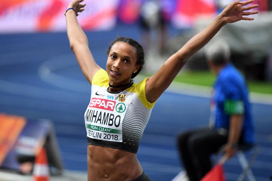 Malaika Mihambo (24) bejubelt den bislang größten Erfolg ihrer Karriere.