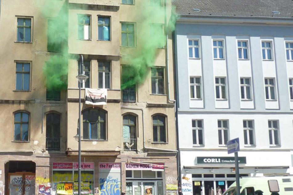 Am Sonntag haben Autonome neun Häuser in Berlin besetzt.