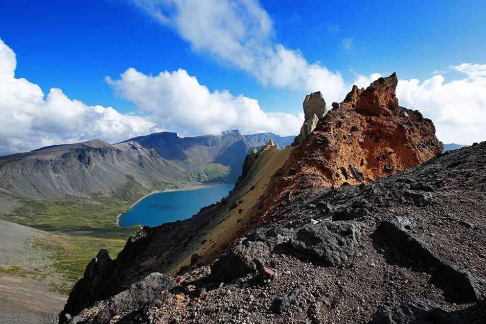 Experten sind wegen der gemessenen Erschütterungen am Vulkan Paektusan beunruhigt.