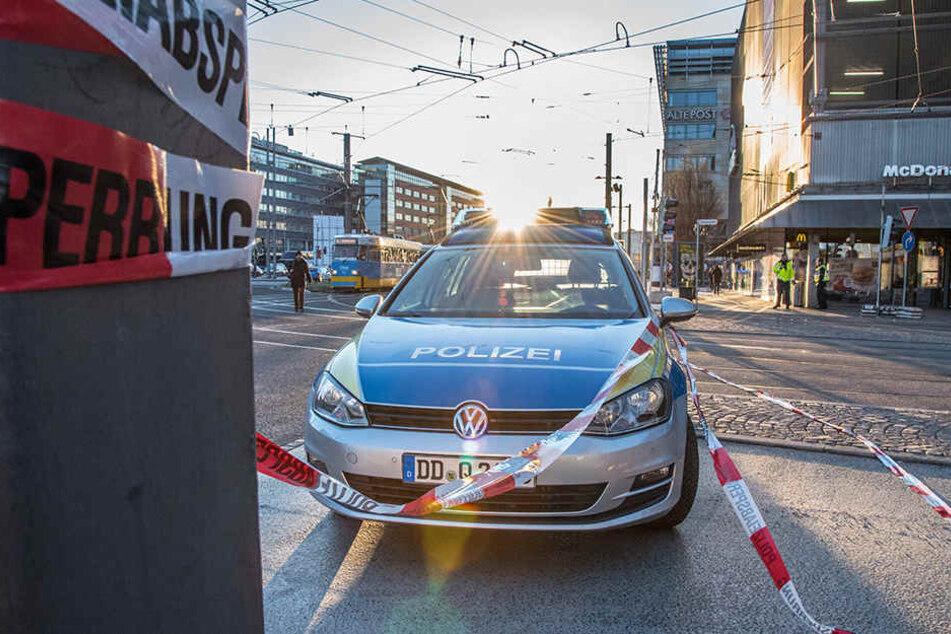 Wieder mal schreckte eine Bombendrohung in Chemnitz auf.