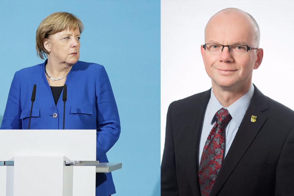 Jörg Woidniok (50, CDU) verlangte den Rücktritt von Angela Merkel als CDU-Chefin.
