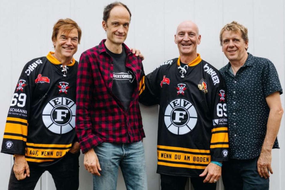 Die Toten Hosen unterstützen künftig einen Eishockey-Traditionsverein