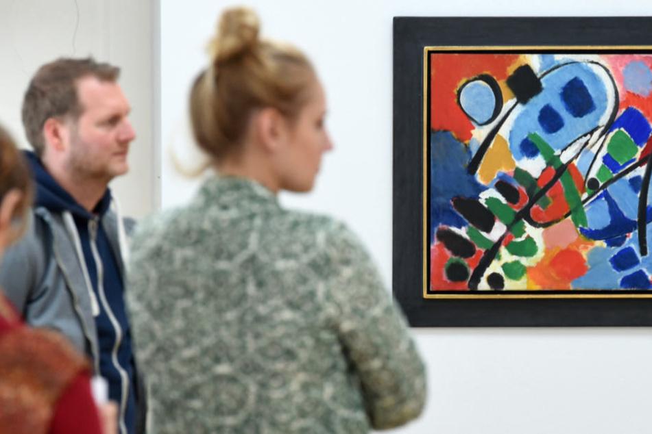 Die private Stiftung wird in dem neuen Museum abstrakten Kunst ausstellen (Symbolfoto).