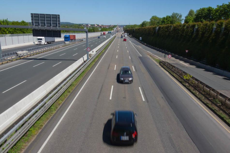 Der Mann war bei Wolfratshausen falsch auf die A95 aufgefahren. (Symbolbild)