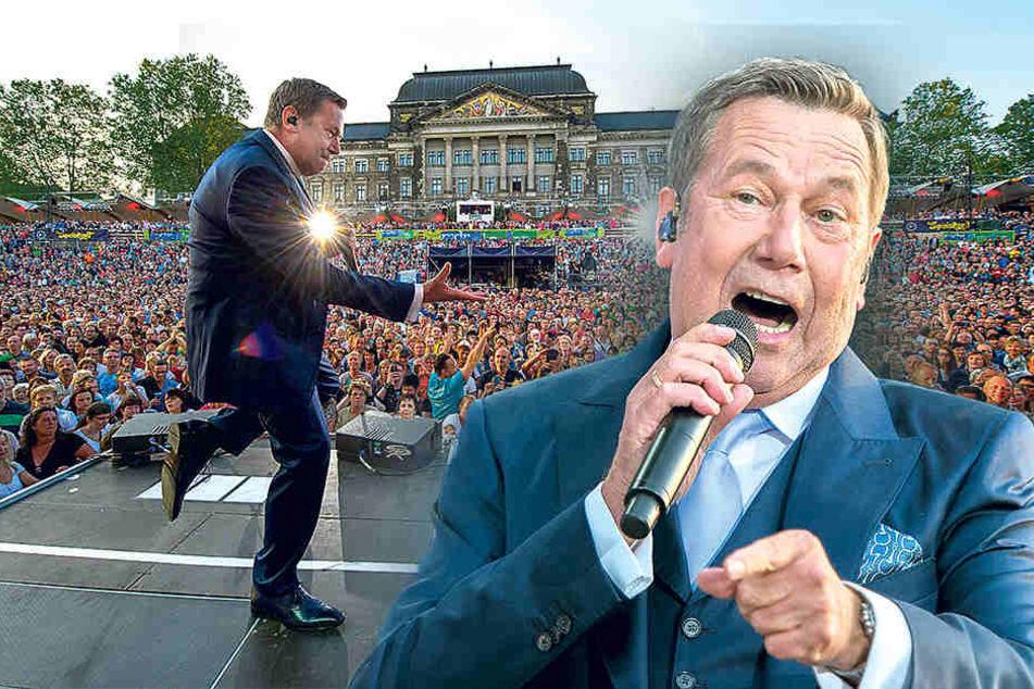 """Roland Kaiser exklusiv: """"Vor jedem Auftritt freue ich mich wie ein Kind"""""""