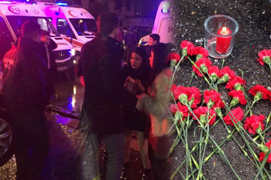 Bei dem Anschlag in der Silvesternacht wurden 39 Menschen getötet.