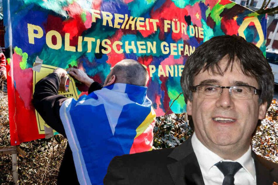 Carles Puigdemont (55) wurde mit europäischem Haftbefehl gesucht und in Schleswig-Holstein festgenommen.