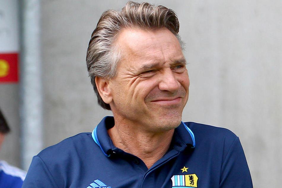 Horst Steffen fordert noch mehr Ruhe und Abgeklärtheit von seinem Team.