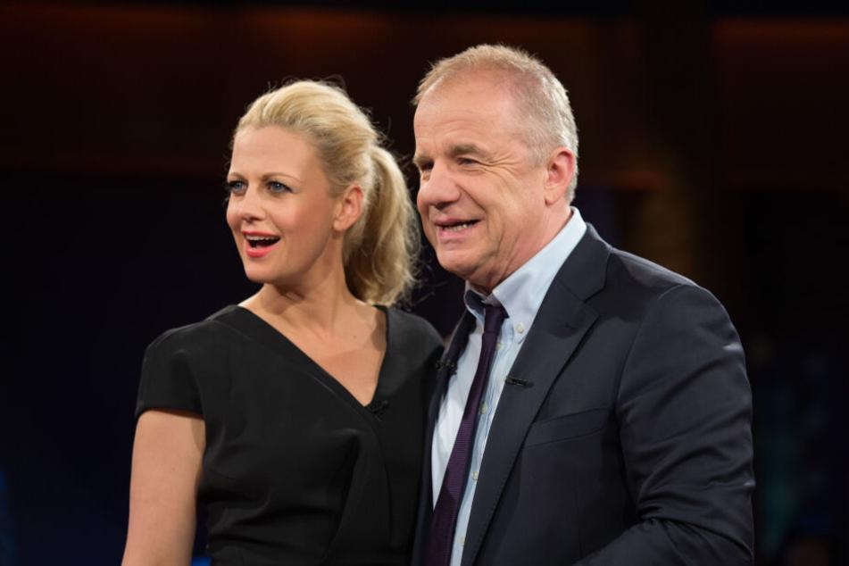 Normalerweise moderieren Barbara Schöneberger und Hubertus Meyer-Burckhardt die NDR Talkshow gemeinsam.