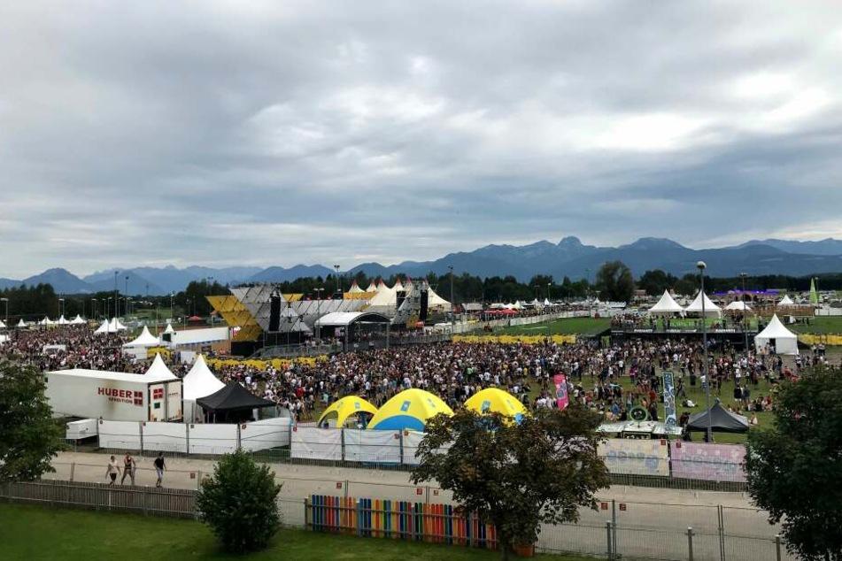Knapp 21.000 Besucher feierten am Freitag und Samstag auf dem Echelon Festival.