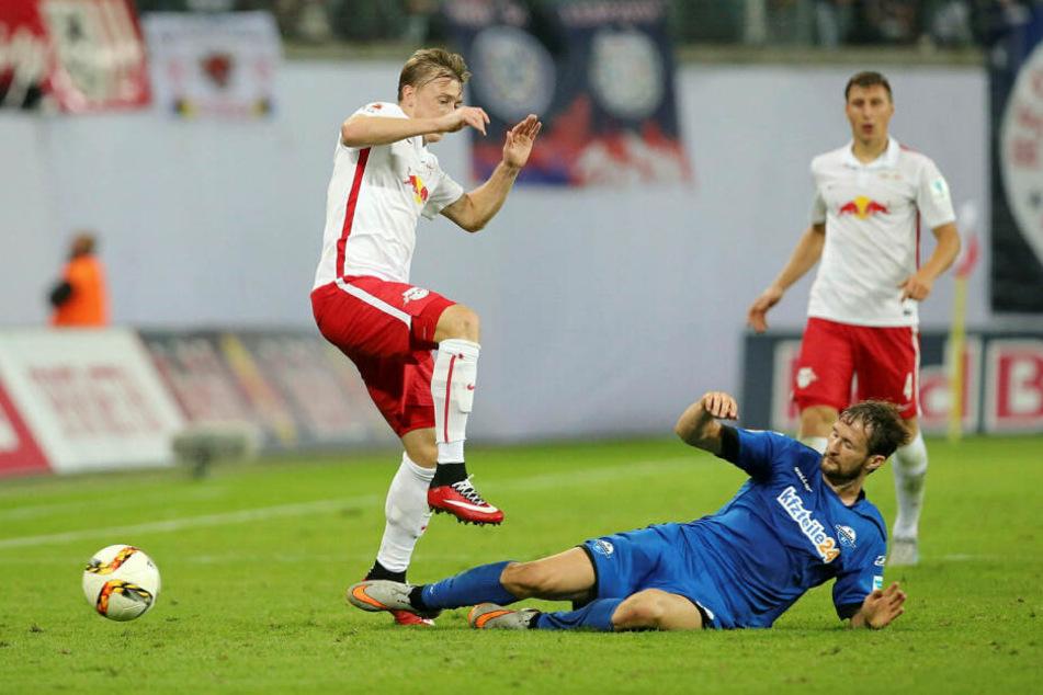 Treffen in der kommenden Saison erstmals in der Bundesliga aufeinander: RB Leipzig und der SC Paderborn