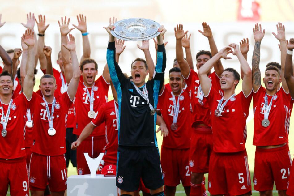 Und jährlich grüßt das Murmeltier: Zum achten Mal in Folge wurde der FC Bayern 2020 deutscher Meister.