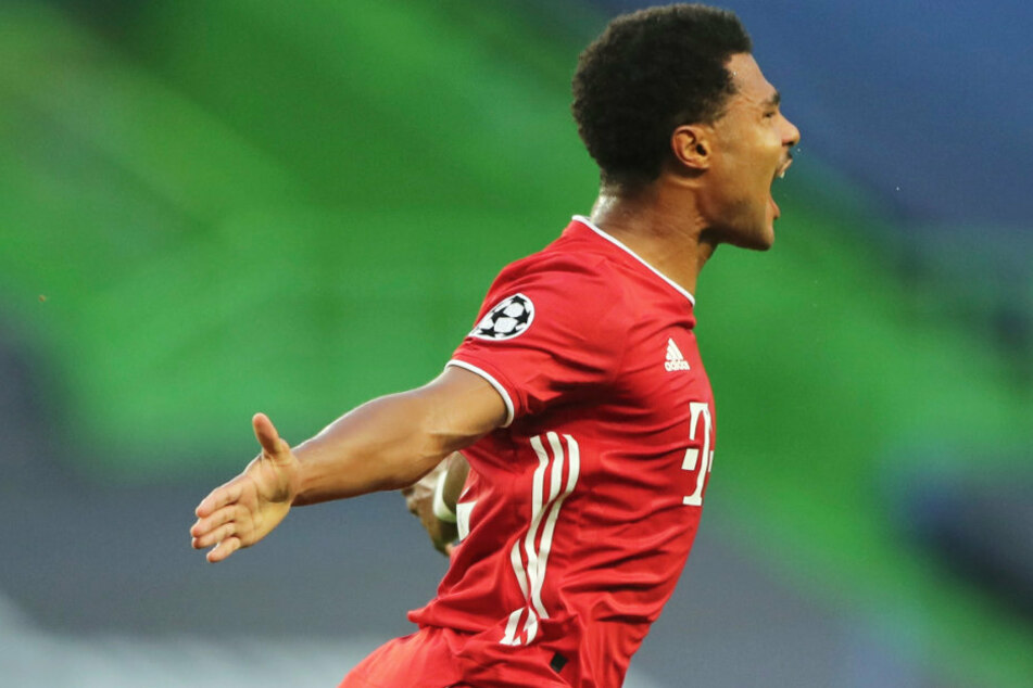 Serge Gnabry und der FC Bayern München stehen im Finale der Champions League. Der 25-Jährige hat mit seinen Treffern großen Anteil.