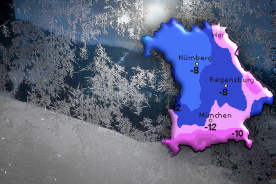 Erst bitterkalt, dann rollt die Schneewalze auf Bayern zu!