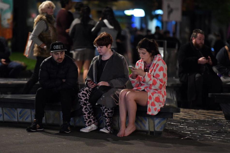 Viele Menschen musste wie hier in Wellington evakuiert werden.