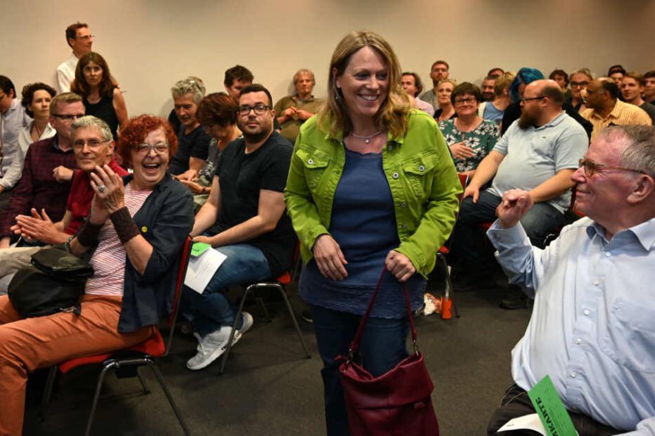 Die Grünen um Spitzenkandidatin Maike Schaefer haben sich gegen ein Bündnis mit CDU und FDP entschieden.