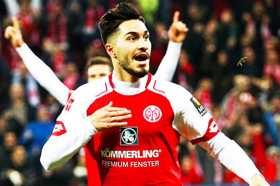 Suat Serdar vom 1. FSV Mainz 05 wäre eine Verstärkung für das zentrale Mittelfeld.