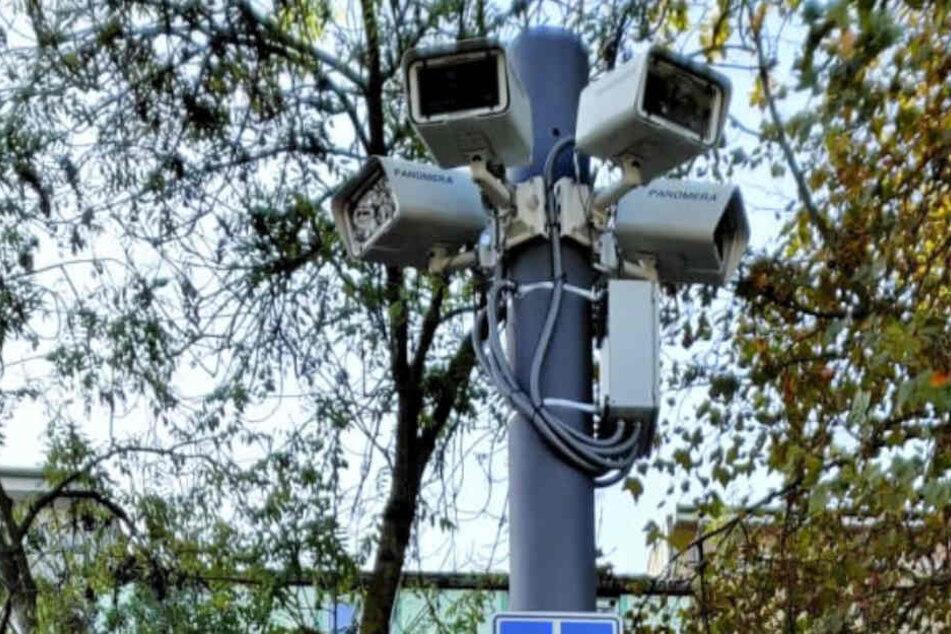 Die Überwachungskameras am Kölner Ebertplatz sind bereits seit dem 28.10. in Betrieb.