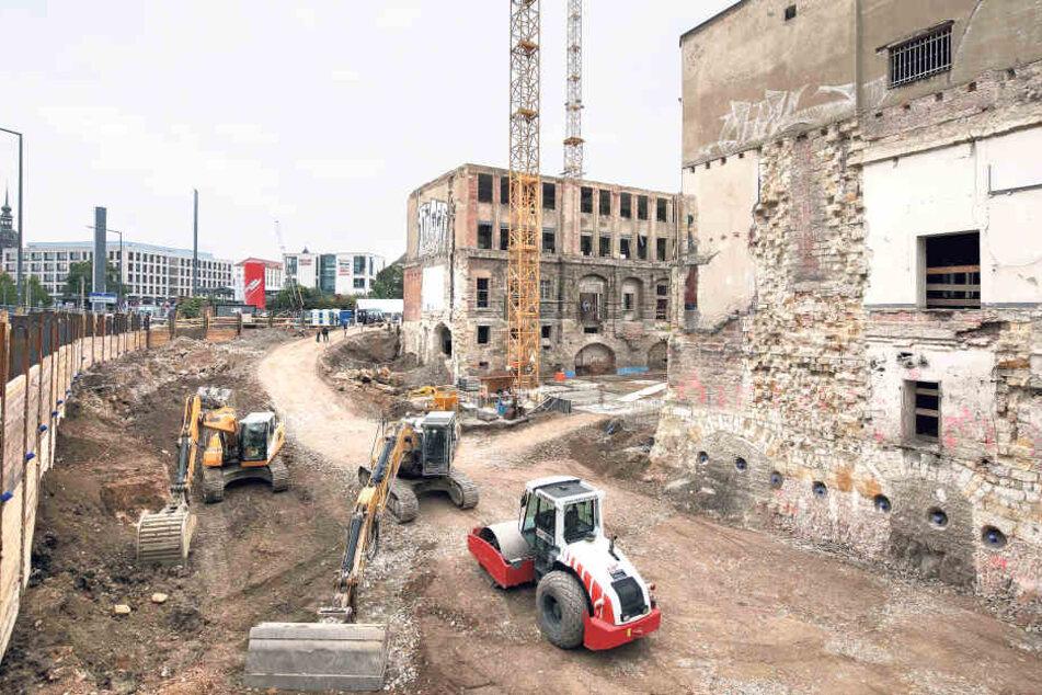 Bis  2018 sollen das Gebäude und zwei Anbauten in frischem Glanz erstrahlen.
