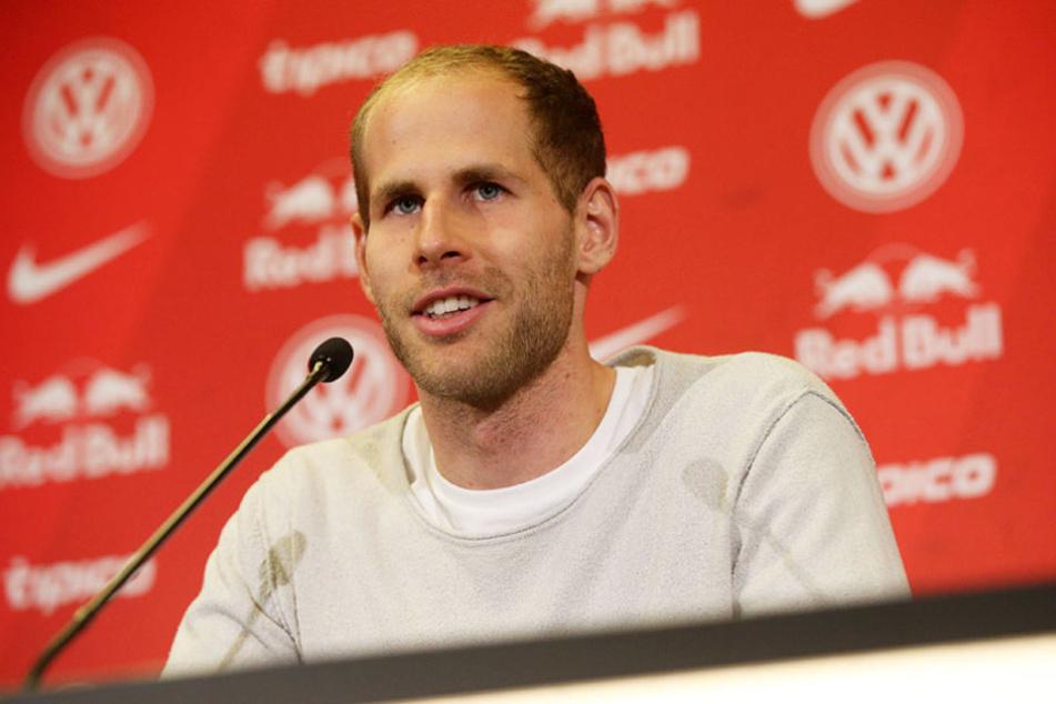 Péter Gulácsi ist sich mit seinem Team einig: Sie wollen am Sonntag gewinnen.