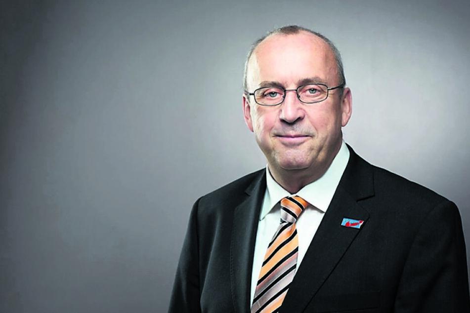 Vor dem Zwickauer Amtsgericht will Ex-Stadtrat Frank-Frieder Forberg (63) eine einstweilige Verfügung erwirken.