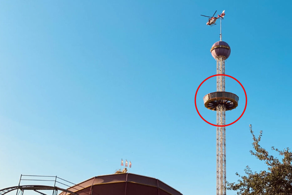 Drama im Freizeitpark: Darum saßen 25 Menschen in Aussichtsplattform fest