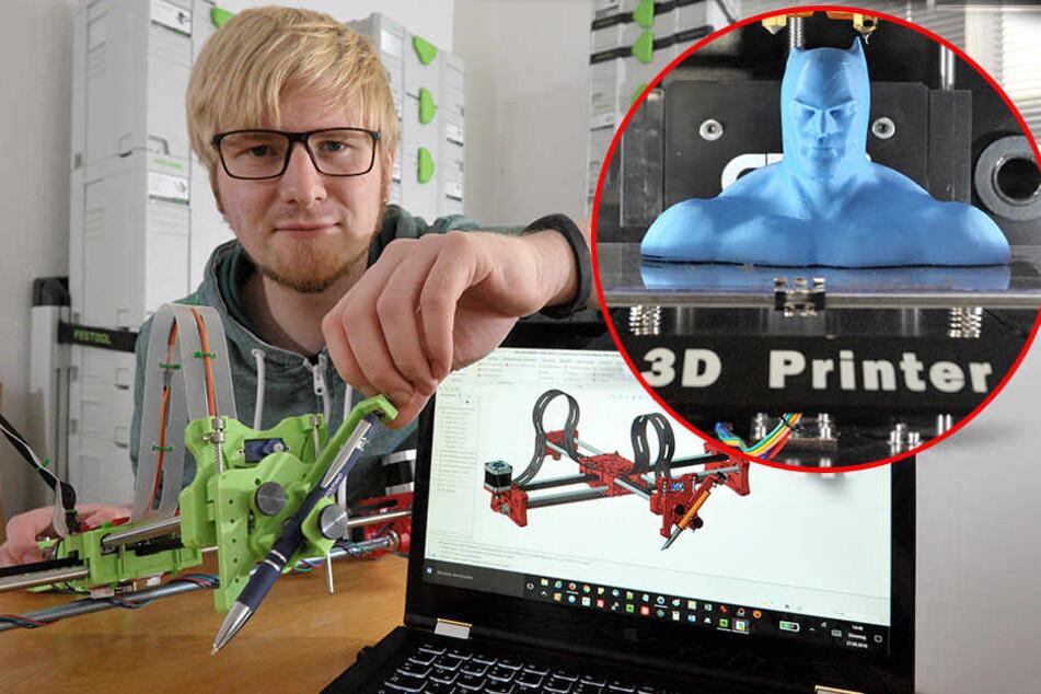 Dieser 3D-Drucker soll bald Gegenstände für Jedermann ausspucken
