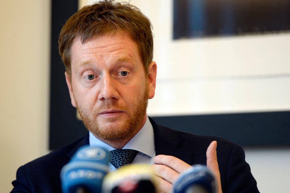CDU-Generalsekretär Michael Kretschmer ist empört über Duligs Aussagen.