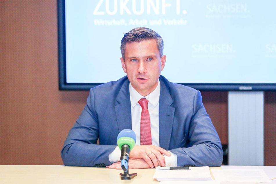 Wirtschaftsminister Martin Dulig (44, SPD) freut sich über den Schub für die Region.
