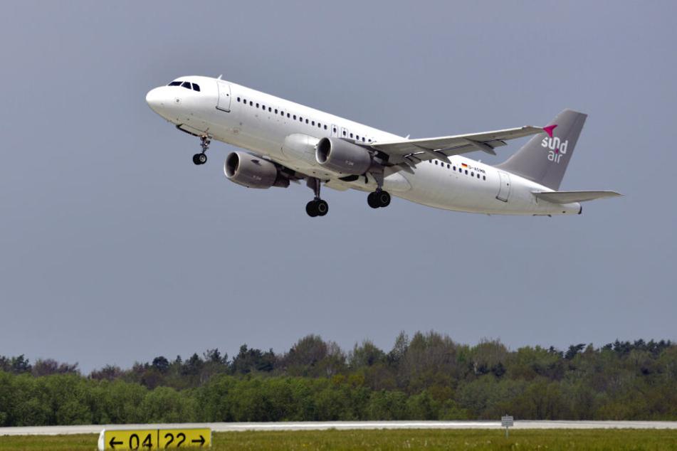 Ab Mai hebt immer dienstags ein Sundair-Flieger von Dresden nach Korfu ab.