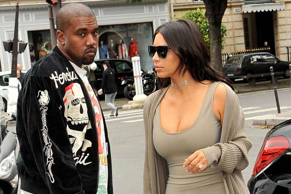 Kanye West hat von seiner Ehefrau Kim Kardashian Hausverbot bekommen.