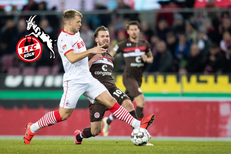 Nach nur fünf Monaten: 1. FC Köln kickt Johannes Geis raus