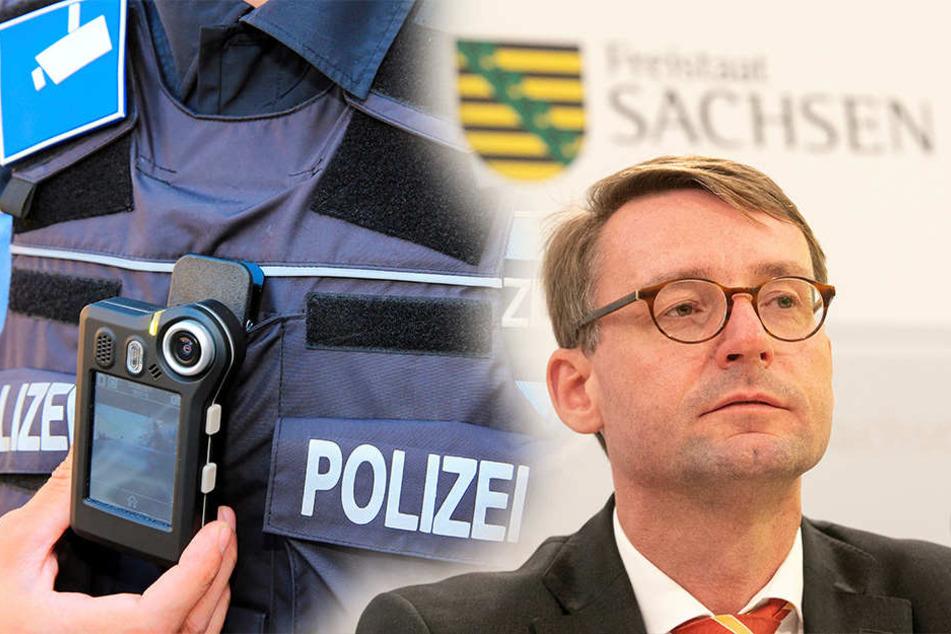 Minister Wöllers neues Polizeigesetz: Das kommt auf die Sachsen zu