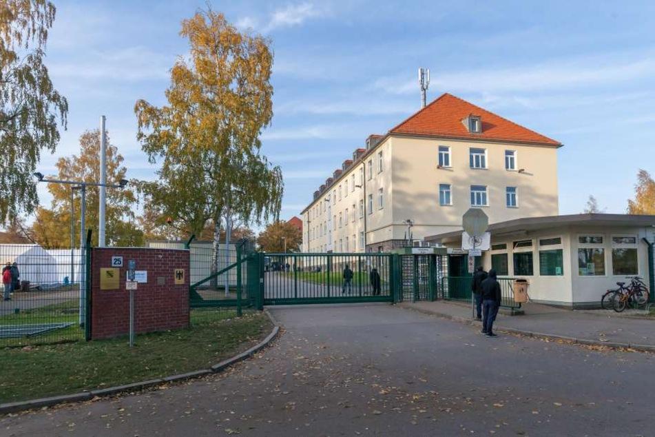 Die EAE am Adalbert-Stifter-Weg in Chemnitz. Dort leben zurzeit nur noch 539 Menschen.