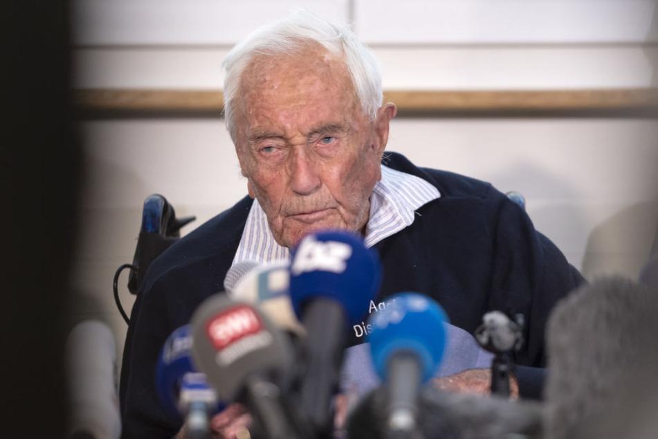 Der Australier David Goodall ist tot. Er wurde 104 Jahre alt.