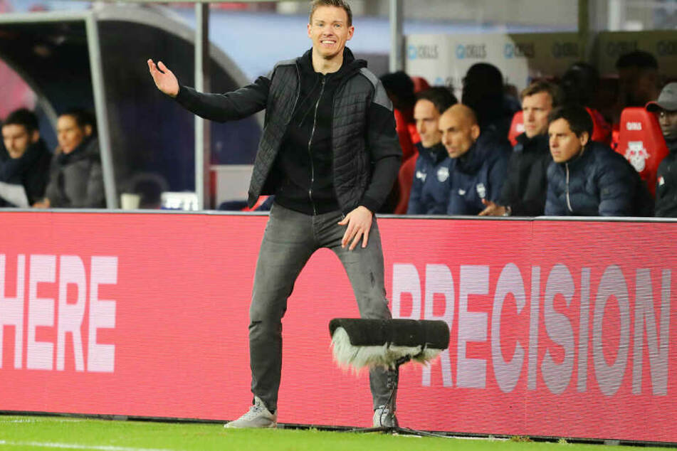 Julian Nagelsmann musste vor zehn Tagen eine 0:2-Niederlage in Frankfurt einstecken. Diesmal will er im DFB-Pokal das Ruder herumreißen.