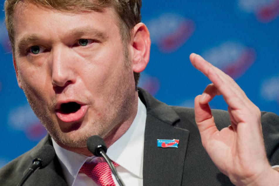André Poggenburg gab im März seine Chef-Ämter bei der AfD auf.