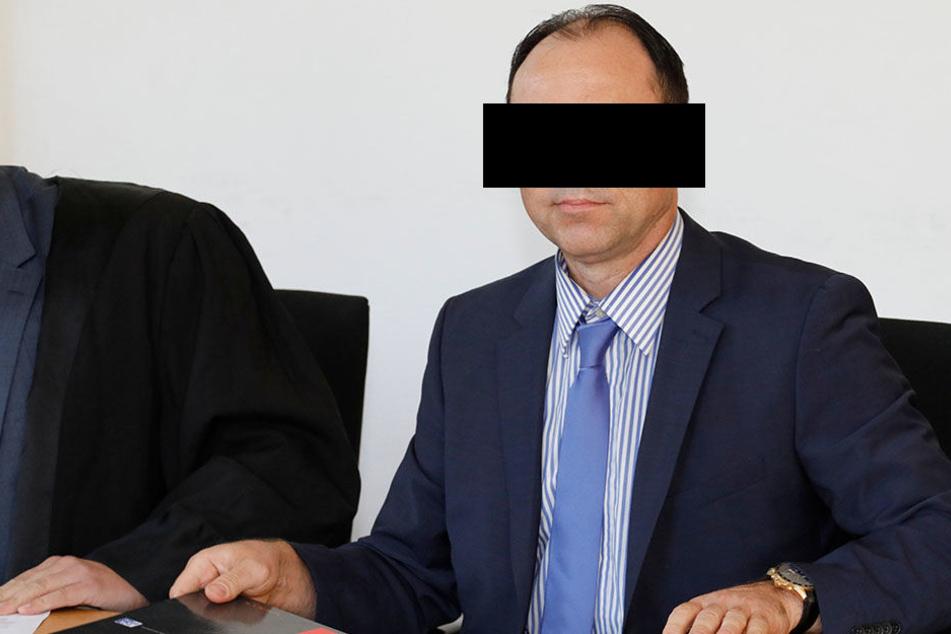 Tobias B. (50) will vor Gericht seine Unschuld beweisen.