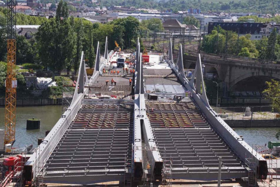 Das Bauwerk ist Teil des Bahnprojekts Stuttgart21.