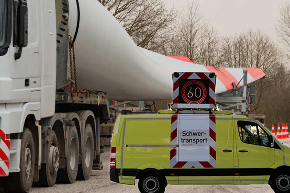 Polizei-Entlastung: Unternehmen begleiten Schwertransporte